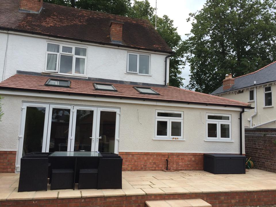 A home extension in Cheltenham by Precision Builders