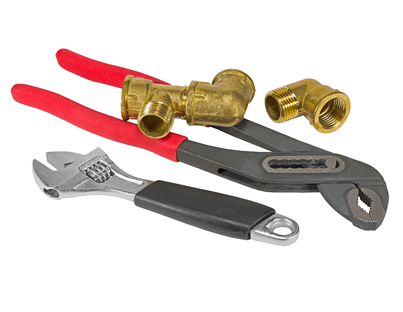 Plumbing tools for a new bathroom