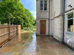 Landscaping job in Gloucestershire completed by Precision Builders
